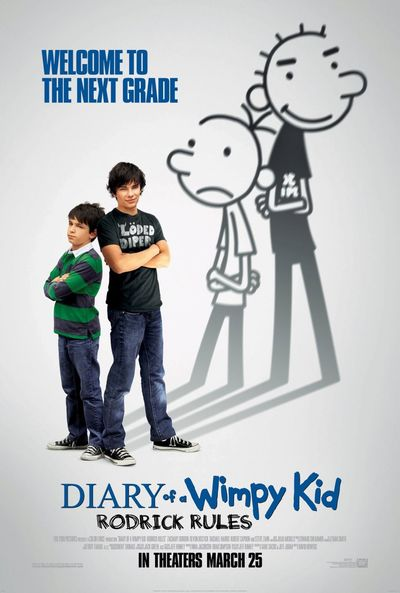 DIARY OF A WIMPY KID RODERICK RULES poster