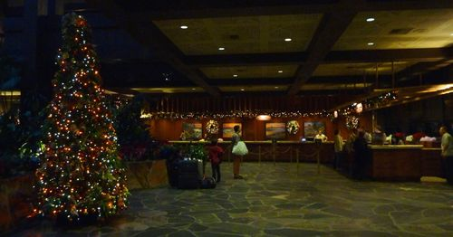 Walt Disney World Hotel Christmas 32