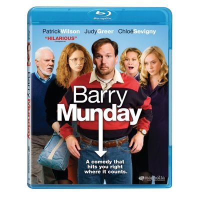 BARRY MUNDAY BLU-RAY Cover