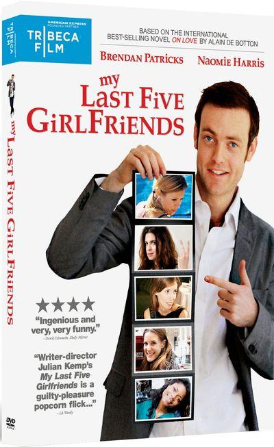 MY LAST FIVE GIRLFRIENDS DVD Cover