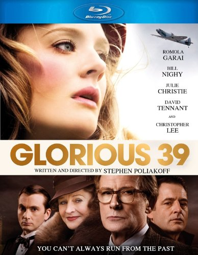 GLORIOUS 39 Blu-ray Cover