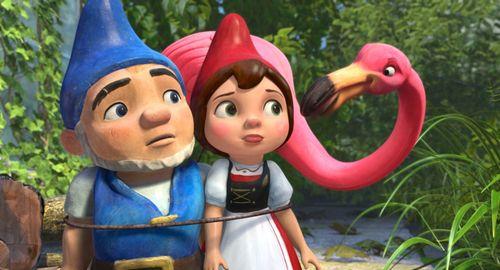 GNOMEO & JULIET James McAvoy
