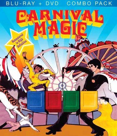 CARNIVAL MAGIC Blu-ray Cover