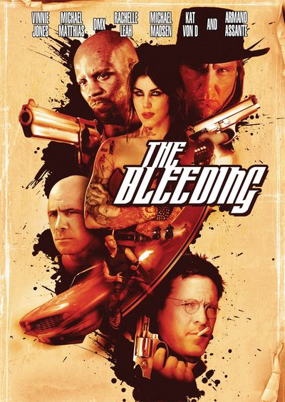 BLEEDING DVD Cover