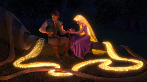 TANGLED Glowing Hair