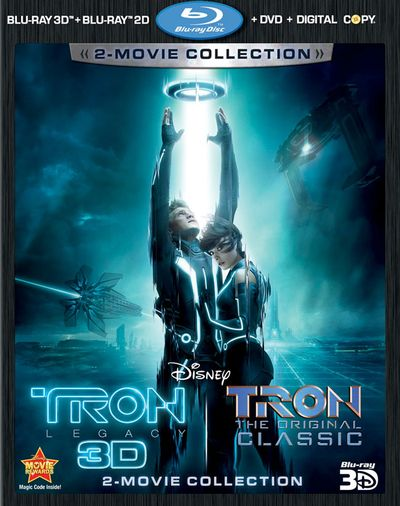 TRON LEGACY and TRON Blu-ray