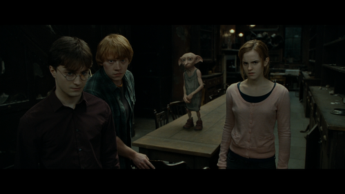 HARRY POTTER AND THE DEATHLY HALLOWS PART ONE Dobby