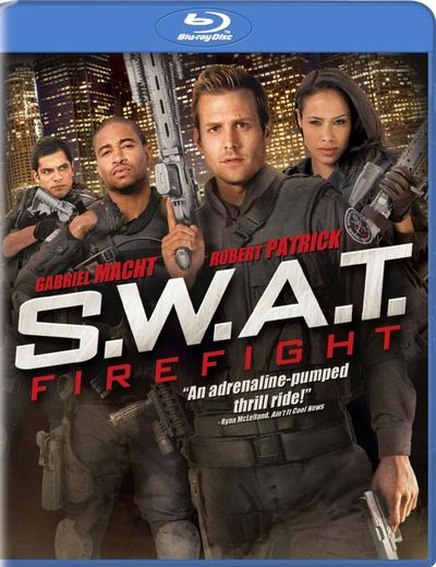 SWAT FIREFIGHT Blu-ray Cover