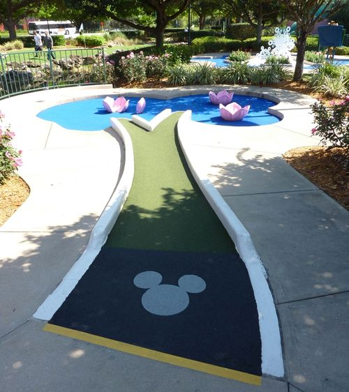 Fantasia Gardens Miniature Golf Course 12