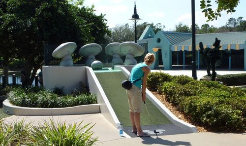 Fantasia Gardens Miniature Golf Course 13