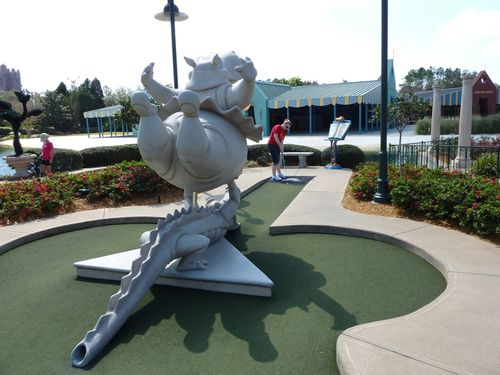 Fantasia Gardens Miniature Golf Course 29