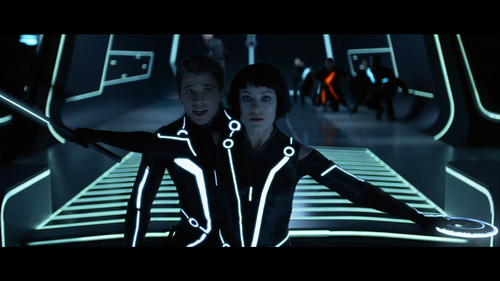 TRON LEGACY End of Line Fight