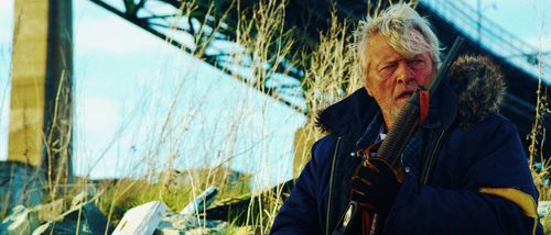 HOBO WITH A SHOTGUN Rutger Hauer