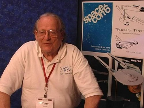 BACK TO SPACE-CON Terry