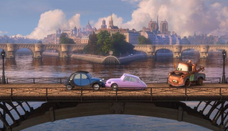 CARS 2 London
