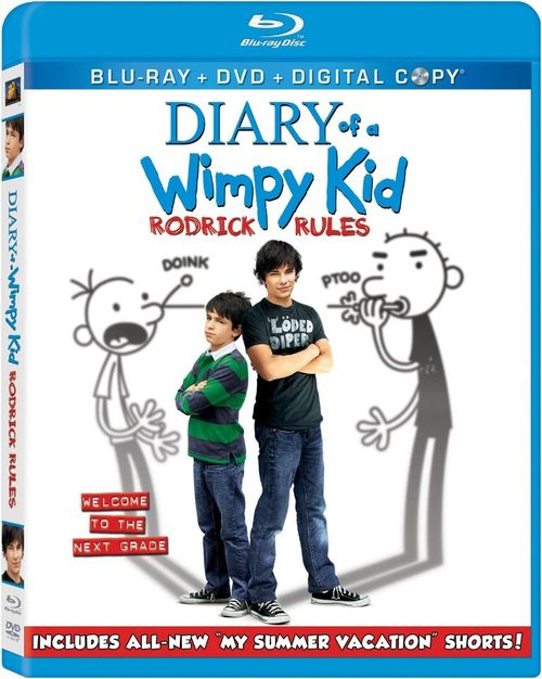 DIARY OF A WIMPY KID RODRICK RULES Blu-ray