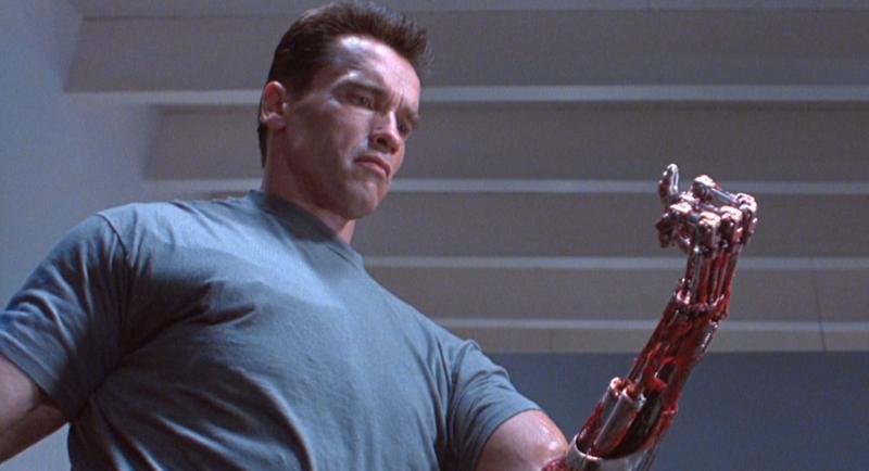 TERMINATOR 2 Schwarzenegger Robot Arm