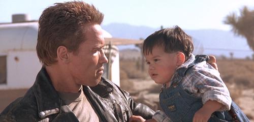 TERMINATOR 2 Schwarzenegger Baby