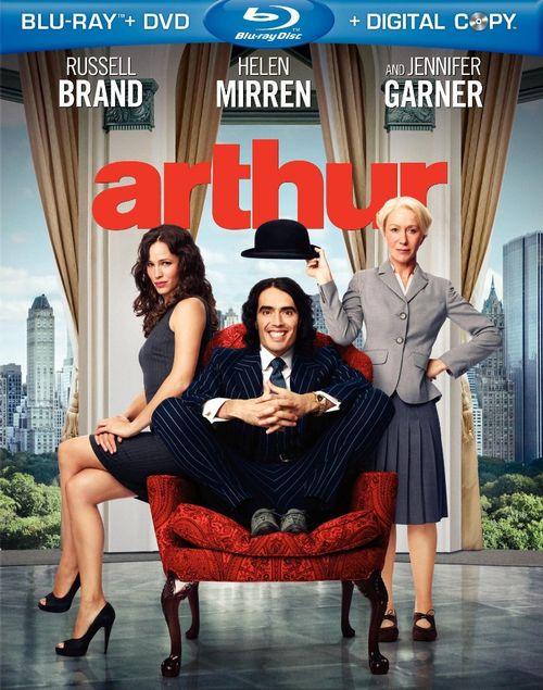 ARTHUR 2011 Blu-ray