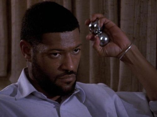 BOYZ N THE HOOD Larry Fishburne Balls