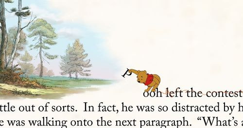 WINNIE THE POOH 2011 Off the page
