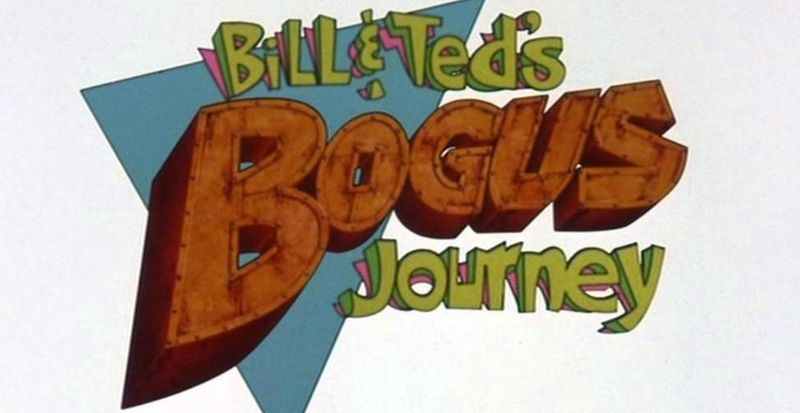 BILL & TED'S BOGUS JOURNEY title