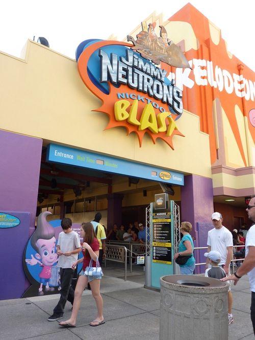 Jimmy Neutron's Nicktoon Blast Universal Studios 3