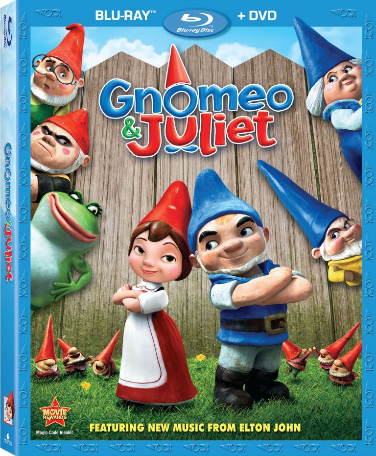 GNOMEO & JULIET Blu-ray