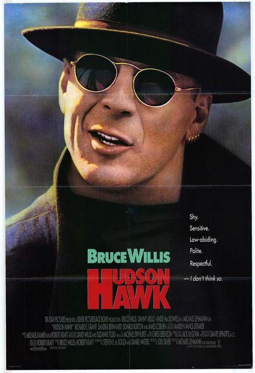 HUDSON HAWK Teaser Poster