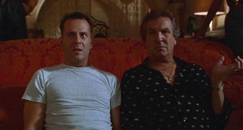 HUDSON HAWK Bruce Willis Danny Aiello