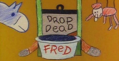 DROP DEAD FRED Title