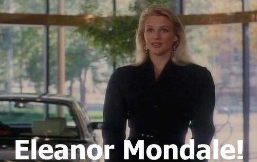 DROP DEAD FRED Eleanor Mondale 1
