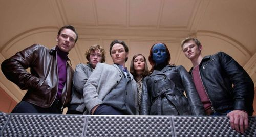 X-MEN FIRST CLASS Cast
