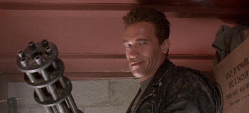 TERMINATOR 2 Schwarzenegger gun