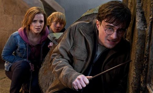HARRY POTTER AND THE DEATHLY HALLOWS PART 2 Ron, Harry, Hermoine
