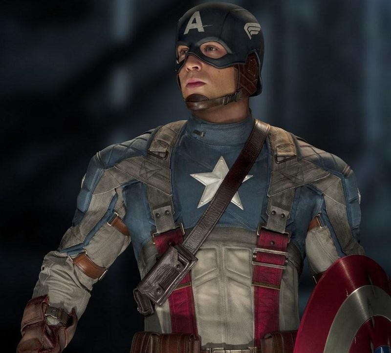 CAPTAIN AMERICA THE FIRST AVENGER Chris Evans