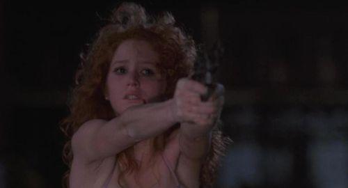 STREETWALKIN' Melissa Leo gun