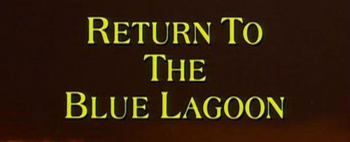 RETURN TO THE BLUE LAGOON Title