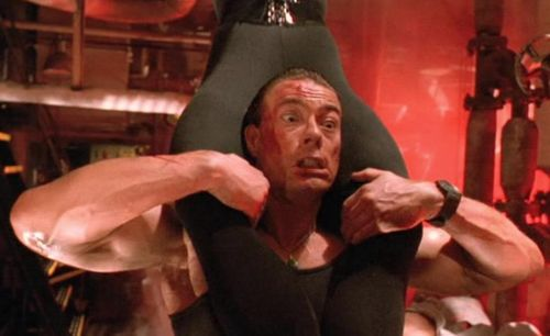 DOUBLE IMPACT Cory Everson Jean-Claude Van Damme