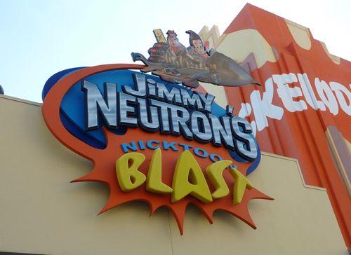 Jimmy Neutron's Nicktoon Blast Universal Studios 1