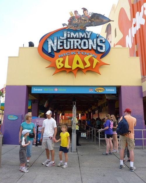 Jimmy Neutron's Nicktoon Blast Universal Studios 2