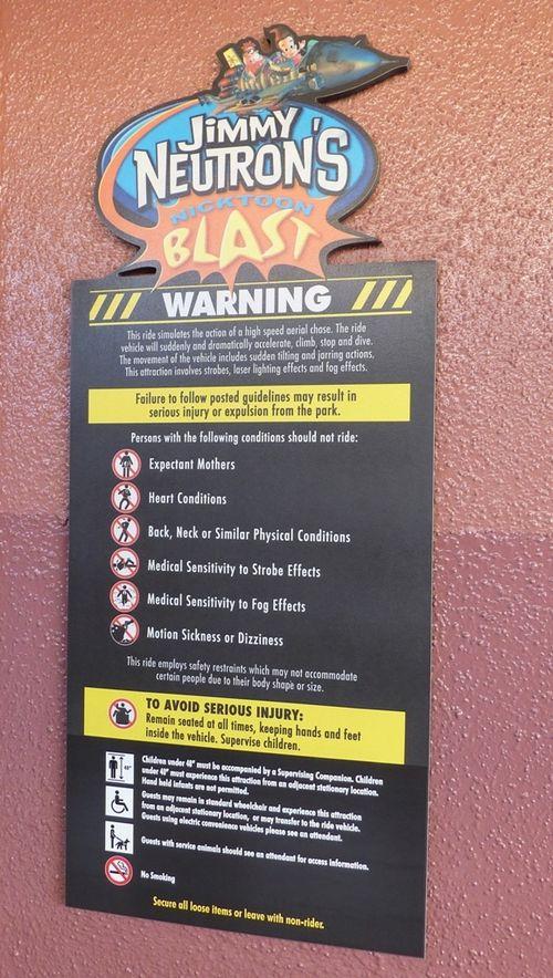 Jimmy Neutron's Nicktoon Blast Universal Studios 11