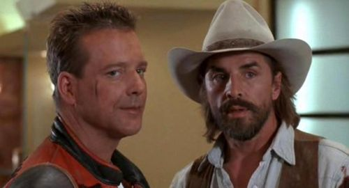 HARLEY DAVIDSON AND THE MARLBORO MAN Mickey Rourke Don Johnson