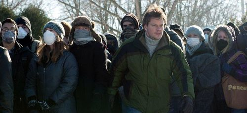 CONTAGION Matt Damon