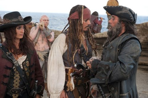 PIRATES OF THE CARIBBEAN ON STRANGER TIDES Ian McShane