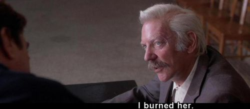 BACKDRAFT Donald Sutherland Line 2