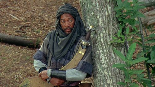 ROBIN HOOD PRINCE OF THIEVES Morgan Freeman
