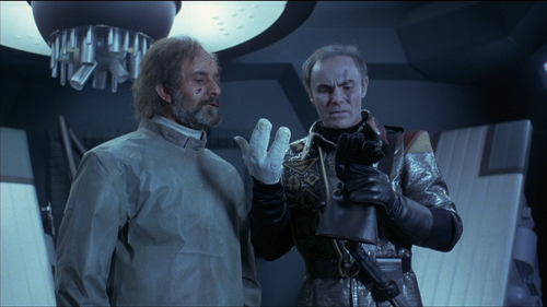 BATTLE BEYOND THE STARS John Saxon Hand