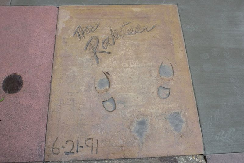 Disney's Hollywood Studios Rocketeer Footprints