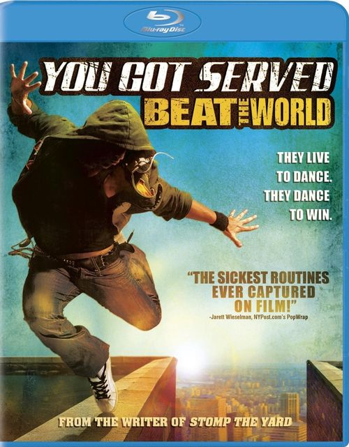 YOU GOT SERVED BEAT THE WORLD Blu-ray